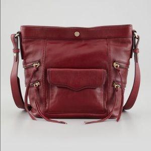 Brand New! Rebecca Minkoff Dexter Bucket Bag -Port